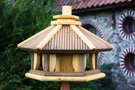 Bird Table L Wooden Garden Bird Tables Feeders Bird Hotels Mazur International