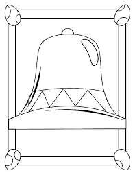liberty bell center coloring pages batch coloring