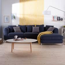 house de canapé d angle plus on est de fous canapé d angle tissu texturé 4 places avec