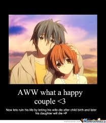 Funny Sad Meme - clannad sad meme google search funny feels anime pinterest