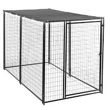 amazon com lucky dog modular box kennel w roof and cover 6 u0027h x