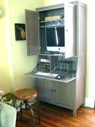hidden office desk hidden desk in a cabinet istanbulklimaservisleri club