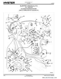 hyster wiring diagram hyster forklift schematic hyster hydraulic