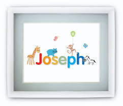 Personalized Pictures With Names Personalised Baby Gifts Baby Ebay