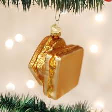 grilled cheese ornament popsugar food