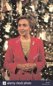 hillary clinton christmas tree stock photos u0026 hillary clinton