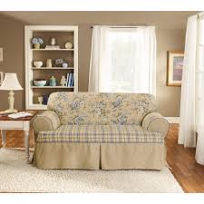 vanity drop cloth slipcovers for sofas heavy cotton duck