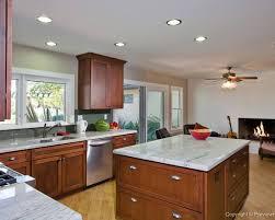 Craftsman Style Kitchen Lighting Interior Design Craftsman Style Kitchen Bonita With Subway Tile