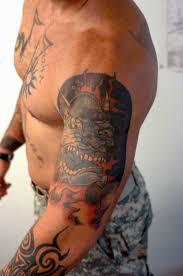 39 best military shoulder tattoos for men images on pinterest