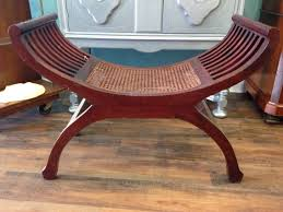 cane seat bench baby shower ideas