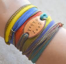 boho wrap soul boho silk wrap bracelet silk ksvhs jewellery