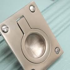 Recessed Cabinet Door Pulls Flush Door Pulls Ring Ideas Cabinet Hardware Room How To