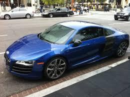 Audi R8 Blue - spotted audi r8 v10 in washington dc business insider