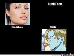 Duck Face Meme - another duck face meme by takengrace meme center