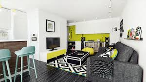 lounge room feature wall idease green accent living painted rooms