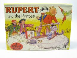 rupert pirates stock code 1312092 rupert bear books