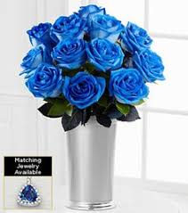 blue roses delivery blue flower power blue roses