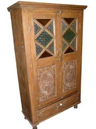 Vintage Armoire Bedroom Furniture Antique Indian Armoires Collection On Ebay