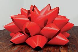 big present bow pop goes minimalism artnews