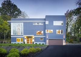 Home Design Exterior Walls Modern Three Storey Home With A View In Cincinnati Ohio
