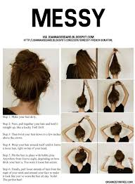 Easy Messy Hairstyles For Short Hair by Link To A Pdf With Over 30 Beautiful Easy Hairstyles For Long