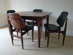 set of six danish dining chairs