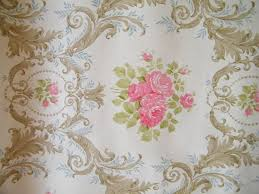Floral Shabby Chic Wallpaper by 74 Best Flowered Wallpapers Images On Pinterest Vintage