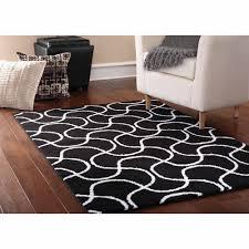 Black White Rugs Modern White Rugs Walmart Mainstays Drizzle Area Rug Blackwhite Clipgoo