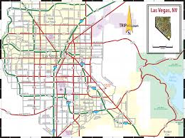 Map Of Casinos In Las Vegas by Las Vegas Nv Map