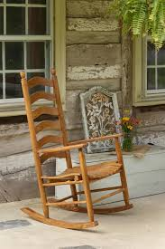 Rocking The Chair Ash Ladderback Rocking Chair From Dutchcrafters Amish Furniture