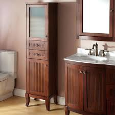bathroom vanity with attached linen cabinet u2022 bathroom cabinets