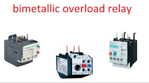 bimetallic relay overcurrent relay operation youtube
