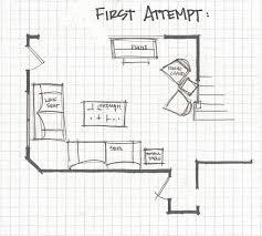 handsome l shaped living room furniture layout std15
