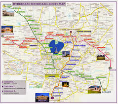 Metro Route Map by Hyderabad Metro Adda Latest Metro Rail Route Map Hyderabad 2013