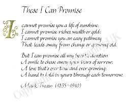 wedding ceremony quotes i promise you poems