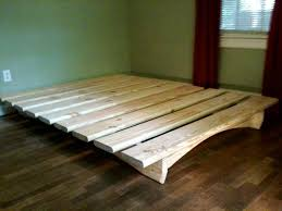 Cal King Platform Bed Plans by Best 25 Diy Bed Frame Ideas On Pinterest Pallet Platform Bed