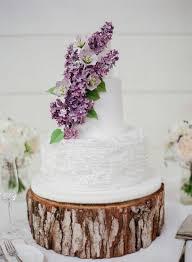 wedding cake lavender rustic chic wedding cake with sugar lavender flowers deer pearl