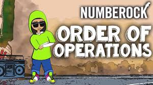 order of operations song pemdas rap by numberock youtube