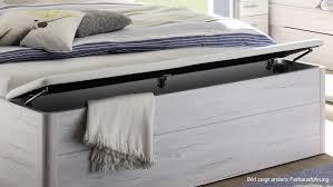 Schlafzimmer Betten Mit Bettkasten Mars Xl Bett Weiß Beton Mit Led Und Bettkasten