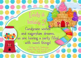 birthday invitation themes candyland birthday invitations kawaiitheo com