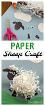paper sheep craft inspired by shaun the sheep animal antics dvd