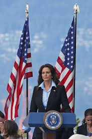 Vancouver Flag Lynda Carter On The Set Of U0027super