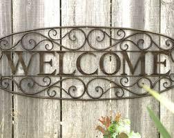 garden sign garden welcome sign garden decor outdoor