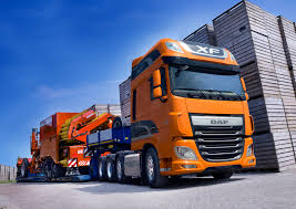 daf launches euro 6 cf and xf four axle trucks daf corporate