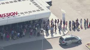 lawmakers demand answers as long lines persist at nj dmv cbs new