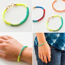 diy bracelet with beads images 2 modern takes on diy beaded bracelets jpg