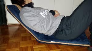 Bonvivo Designer Desk Massimo Bonvivo Easy Ii Sedia Imbottita Da Meditazione Con Schienale