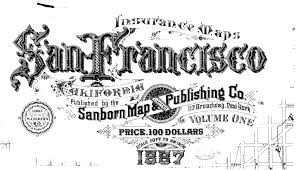 San Francisco Parcel Map by Sanborn Fire Insurance Maps Local Research Sf U0026 Oakland