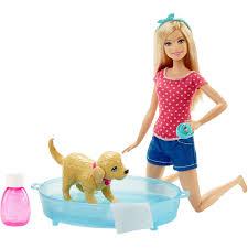 barbie color and crimp styling head blonde walmart com