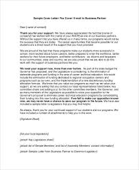 email cover letter sle business cover letter 7 documents in pdf word